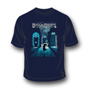 Magical Mystery Doors Navy T-Shirt
