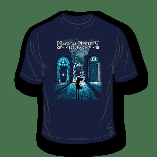 Magical Mystery Doors Navy T-Shirt 2