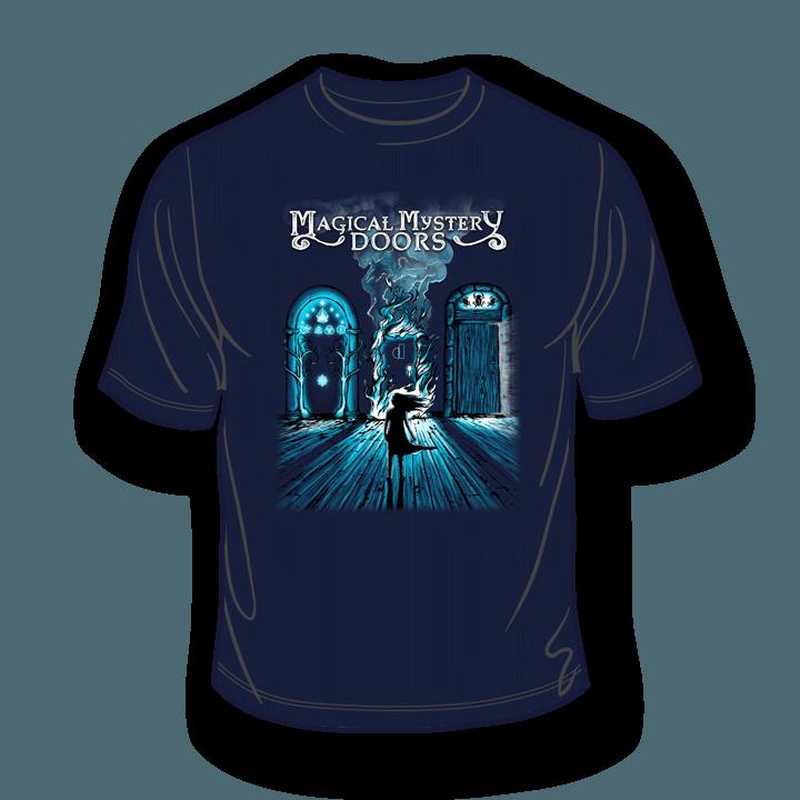 Magical Mystery Doors Navy T-Shirt 1