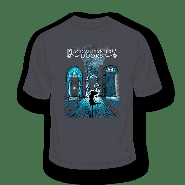 Magical Mystery Doors Charcoal T-Shirt 1
